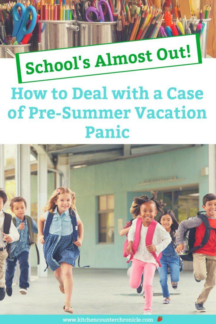 pre summer vacation panic