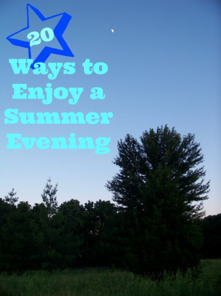 evening summer walk