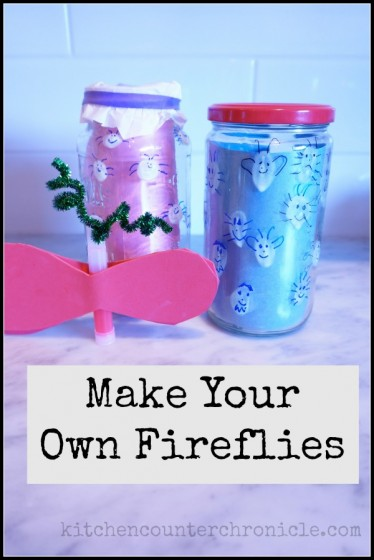 Summer Book Exchange – Make Your Own Fireflies