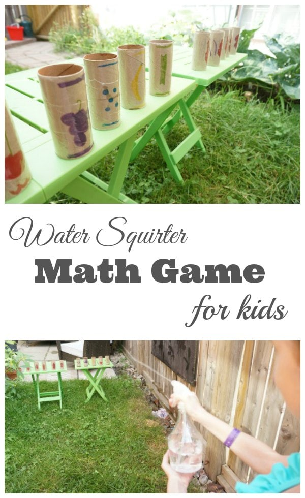 Math Squirter Math Game for Kids
