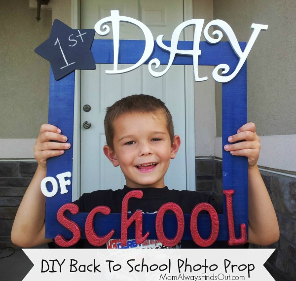 back to school photo prop