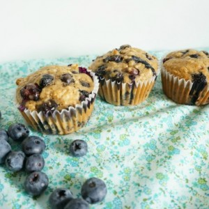 blueberry muffin recipe blueberry muffins on table