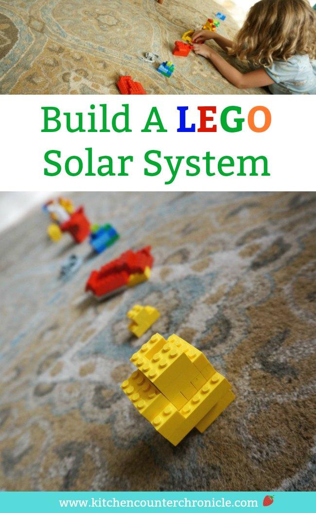 Build a Lego Solar System