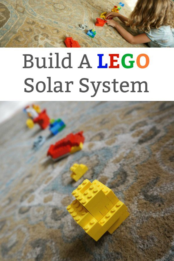 Build a Lego Solar System Science for kids