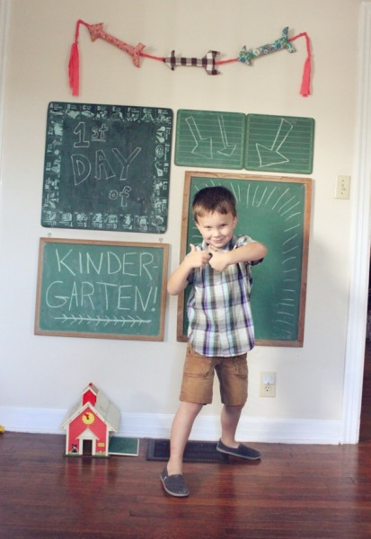 first day chalkboards