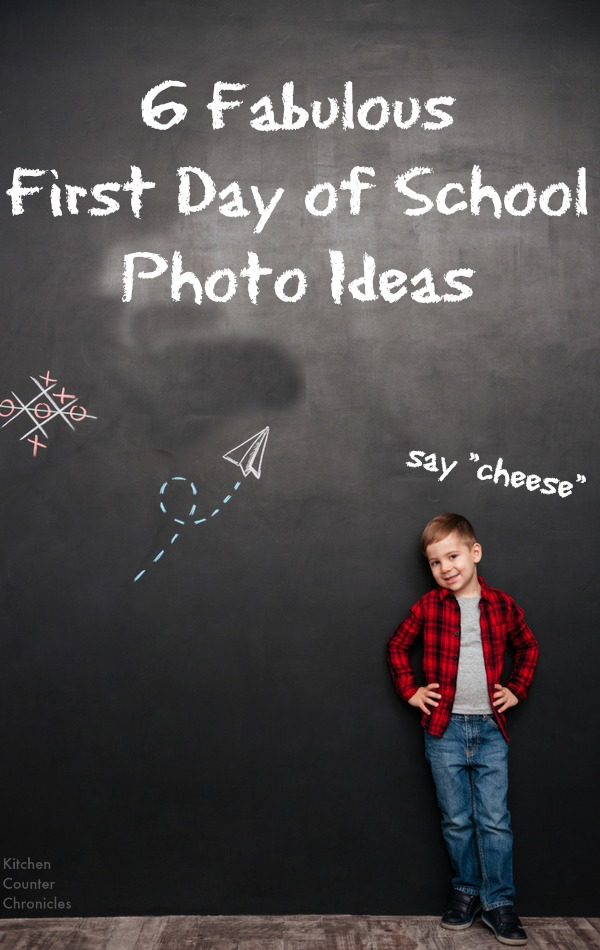 First Day of School Photo Ideas - So many cute keepsake first day of school photo ideas - Perfect for kids of all ages. | Back to School | Photography Kids |