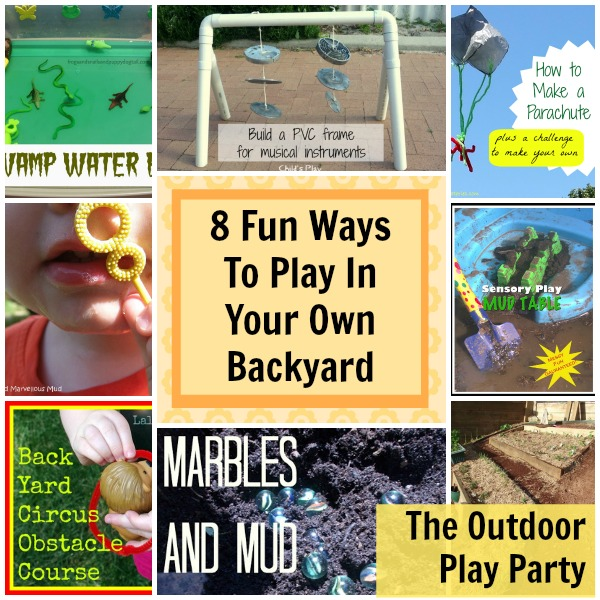 play in your own backyard
