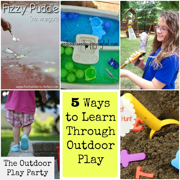 learn through outdoor play