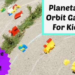 planetary orbit game for kids