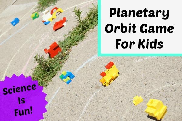 Planetary Orbit Game for Kids