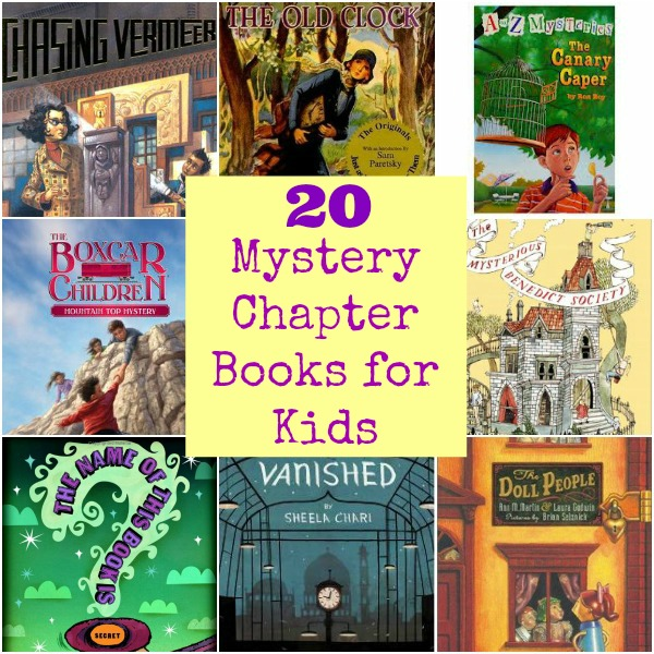 20 Mystery Chapter Books for Kids