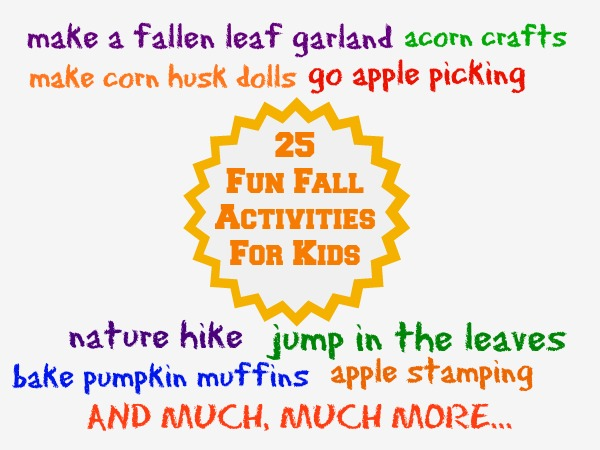 25 Fun Fall Activities for Kids