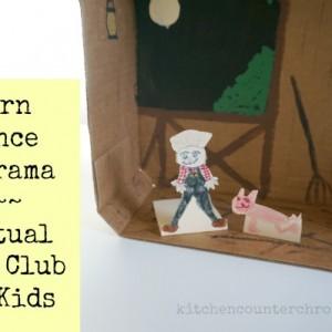 barn dance diorama