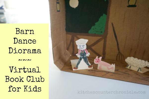 Virtual Book Club for Kids – Barn Dance Diorama