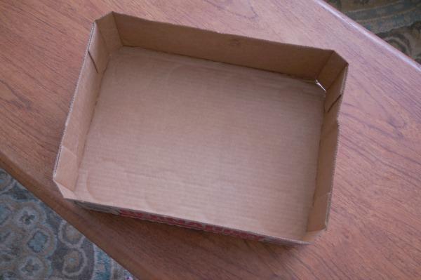 diorama cardboard box