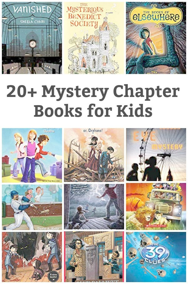 mystery book for kids featured
