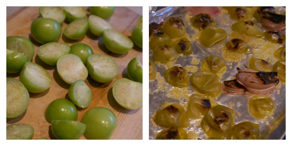 tomatillos collage