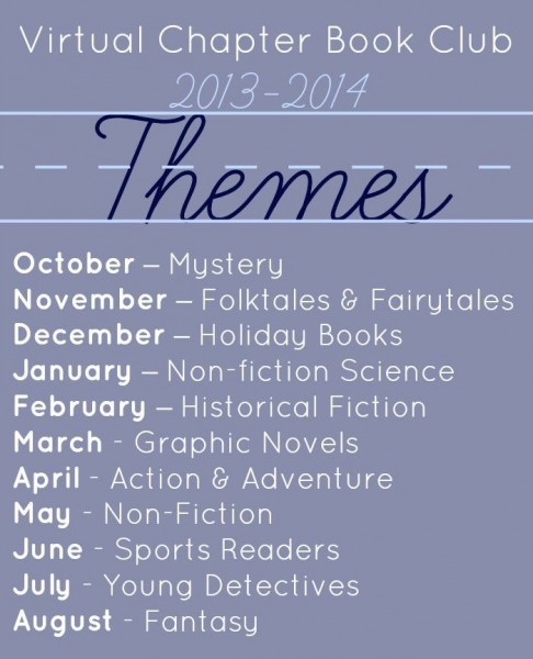 virtual chapter book club themes
