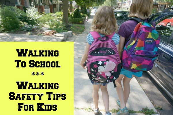 walking safety tips for kids