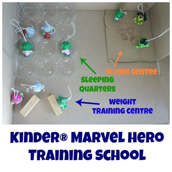 marvel hero training school