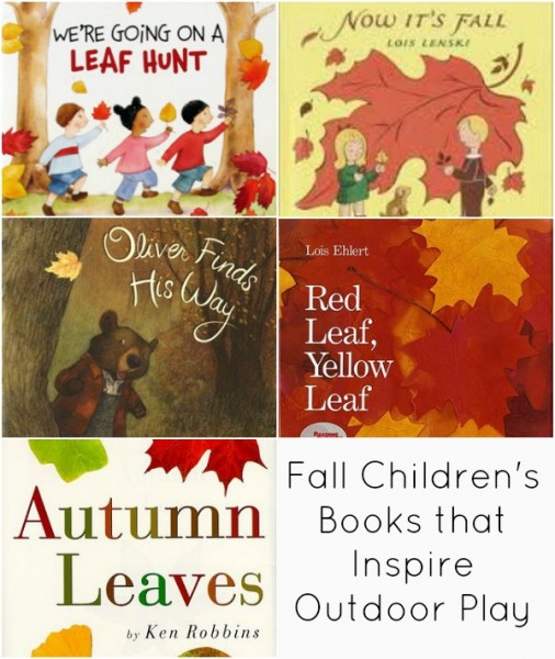 fall children's books that inspire outdoor play
