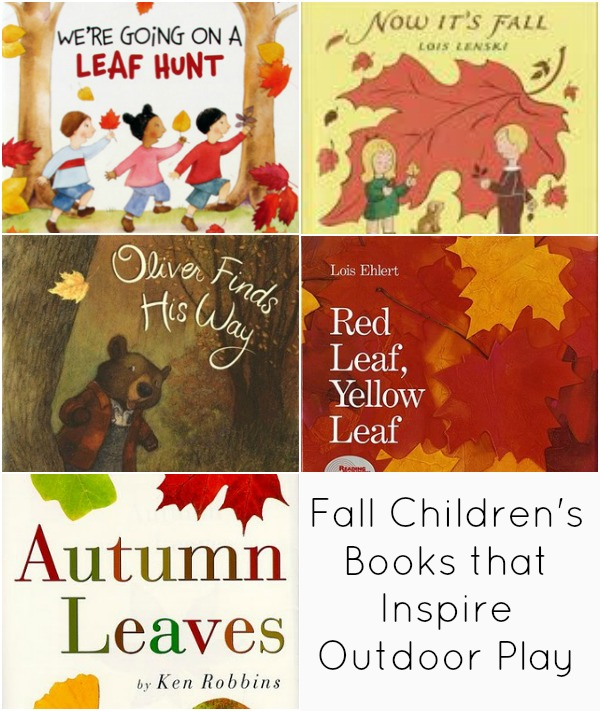 Fall Children's Books that Inspire Outdoor Play – Outdoor Play Party