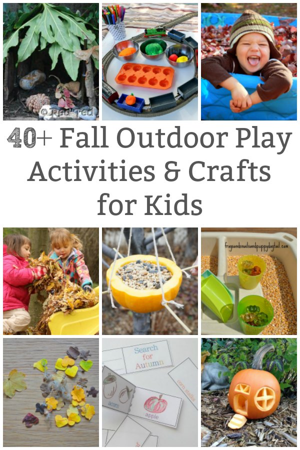 fall outdoor play activities for kids