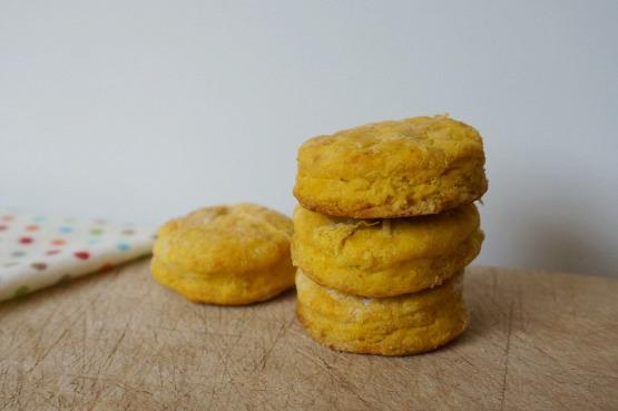 pumpkin biscuits baked