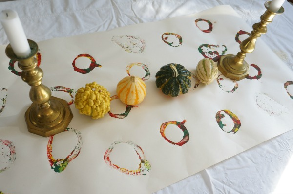 gourd stamped runner