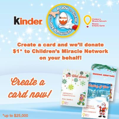 kinder card information