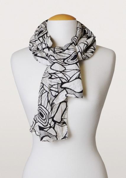 river rocks scarf