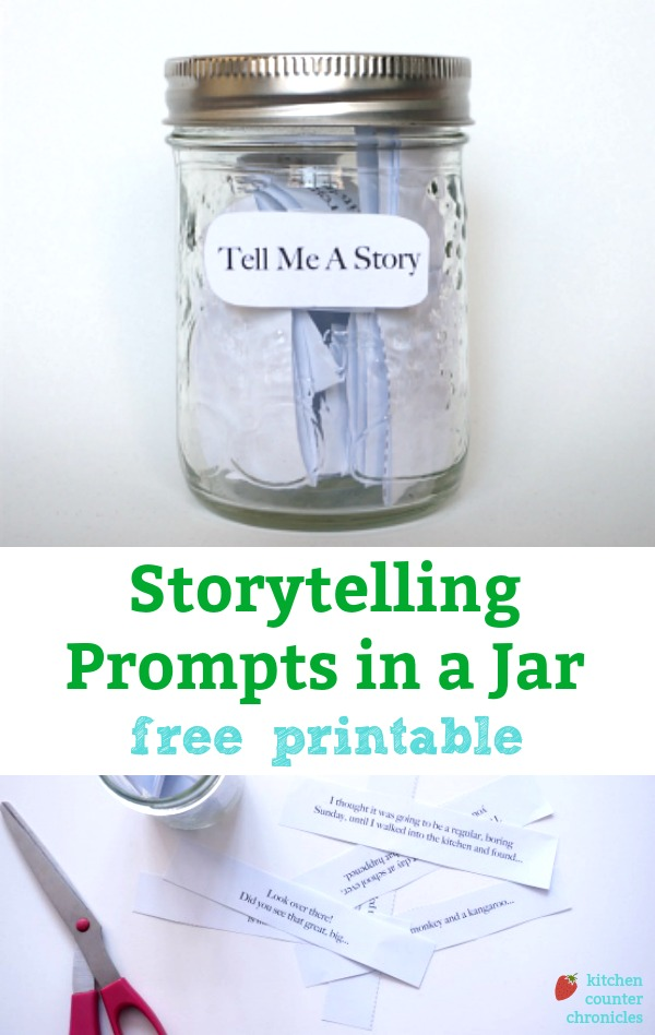 storytelling prompts in a jar free printable
