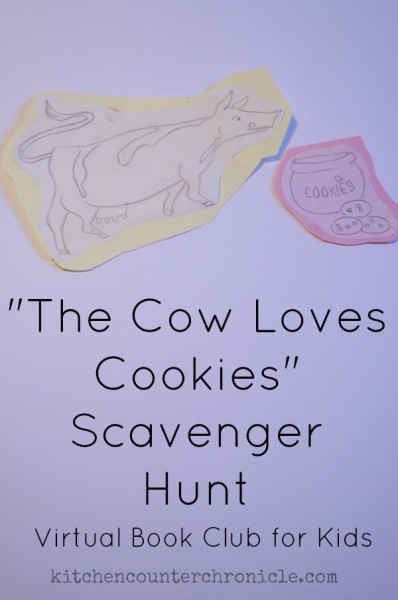 the cow loves cookies scavenger hunt