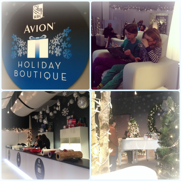VISA Avion Holiday Boutique