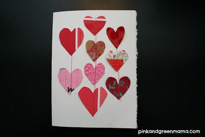 stitched heart valentine