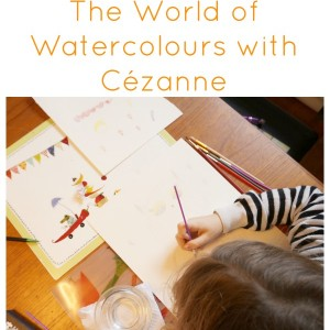 watercolours with cezanne