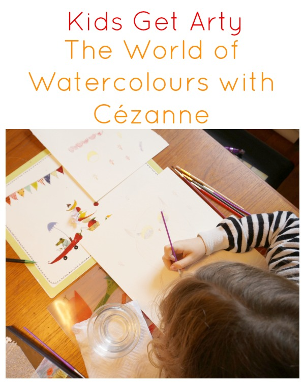 Kids Get Arty – Watercolours with Cezanne