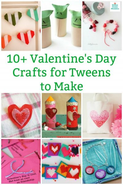 collection of cool valentine's for tweens to make and share