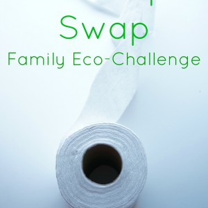 family eco-challenge toilet paper swap