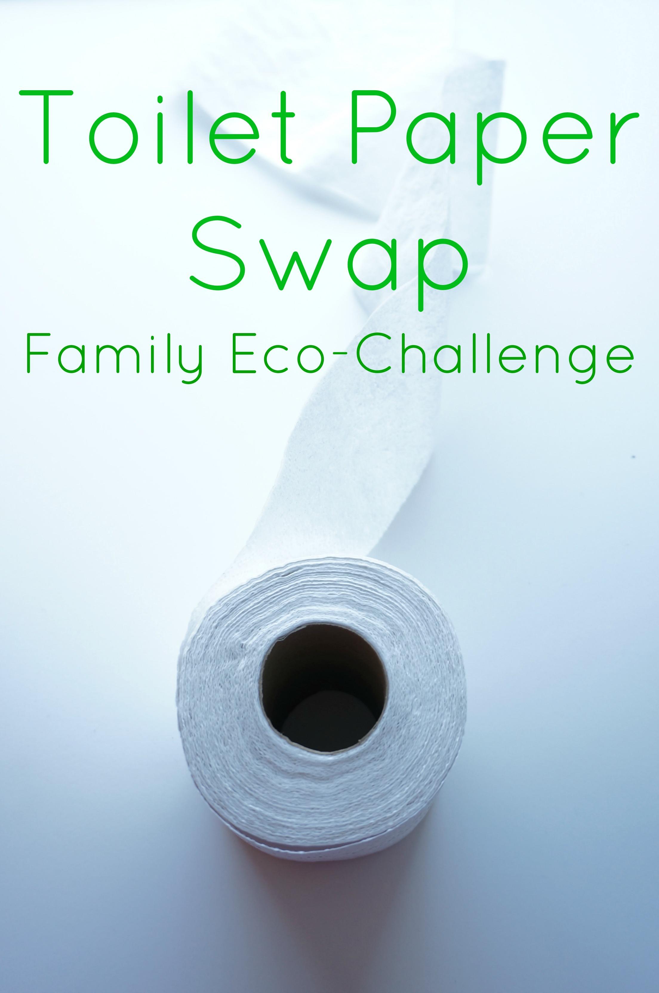 family eco-challenge toilet paper swap