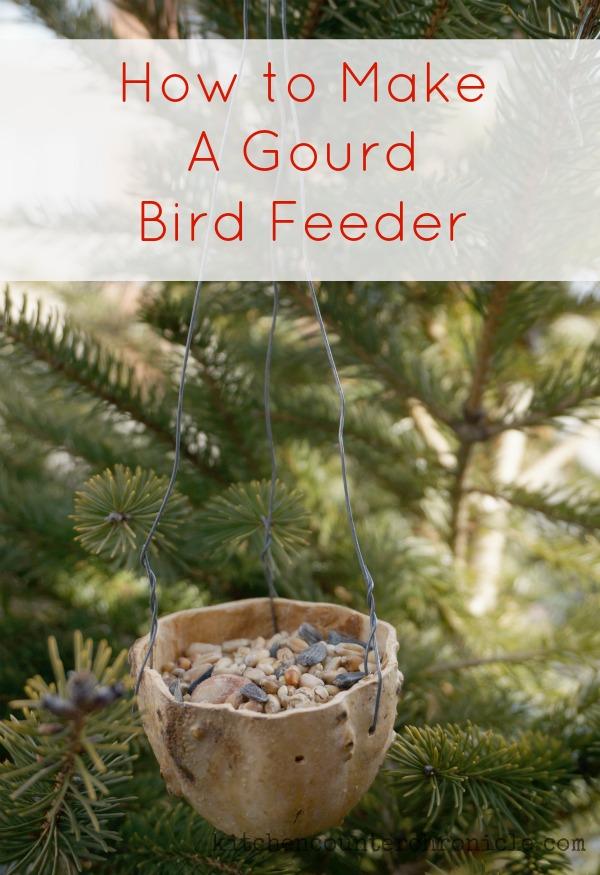 how to make a gourd bird feeder. Black Bedroom Furniture Sets. Home Design Ideas