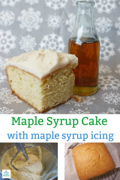 maple syrup cake recipe with maple syrup icing recipe pin