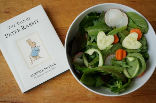 peter rabbit salad