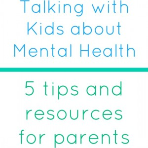 talking with kids about mental health