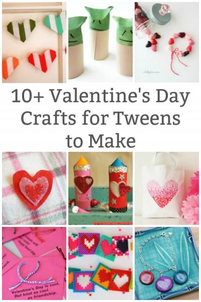 valentine's day crafts for older kids to make