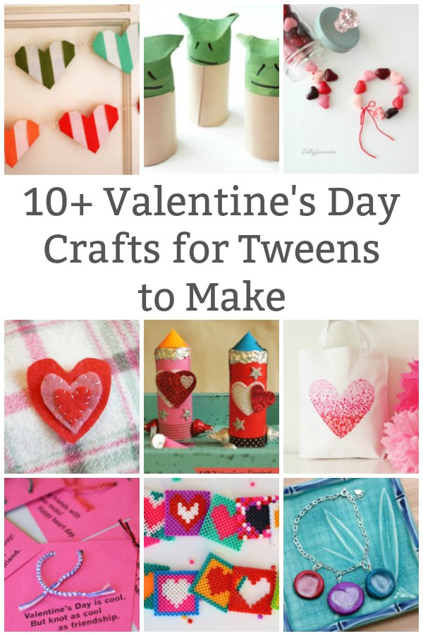 valentine's day crafts for older kids to make