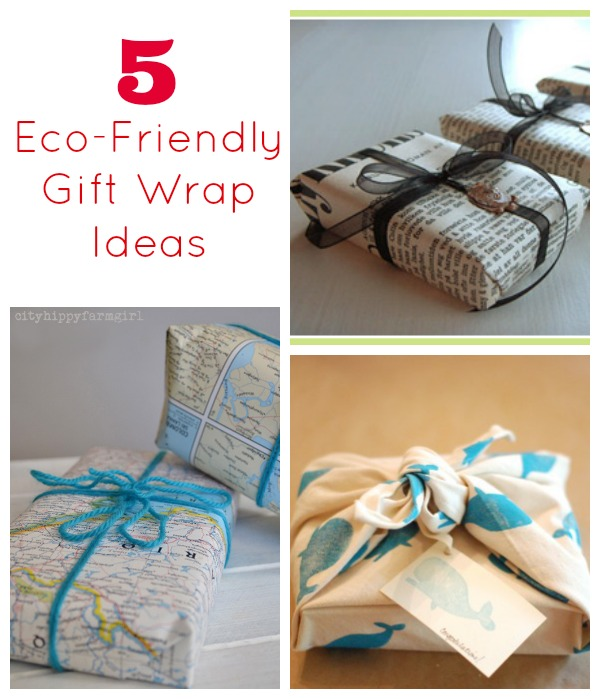 Family eco challenge gift wrap be gone - Eco friendly ideas ...