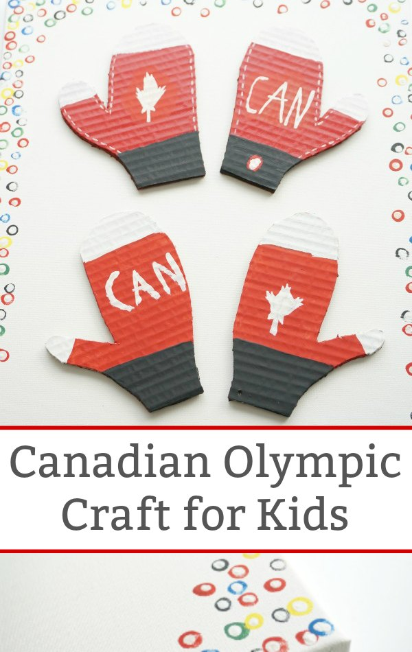 Canada Olympic Craft for Kids