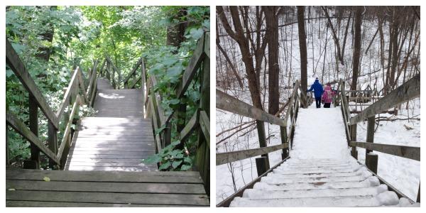 ravine stairs
