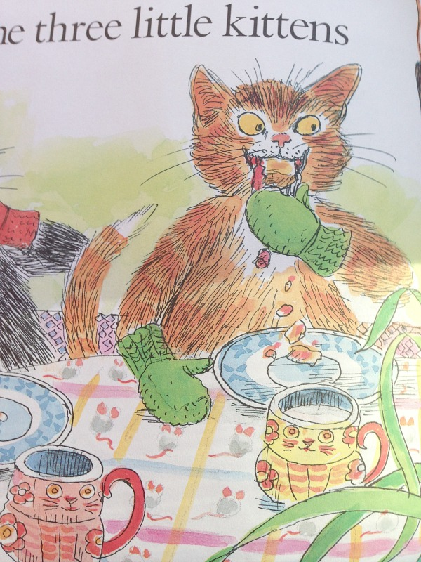 Paul Galdone Inspired Ink & Watercolour Art for Kids - Kitchen ...